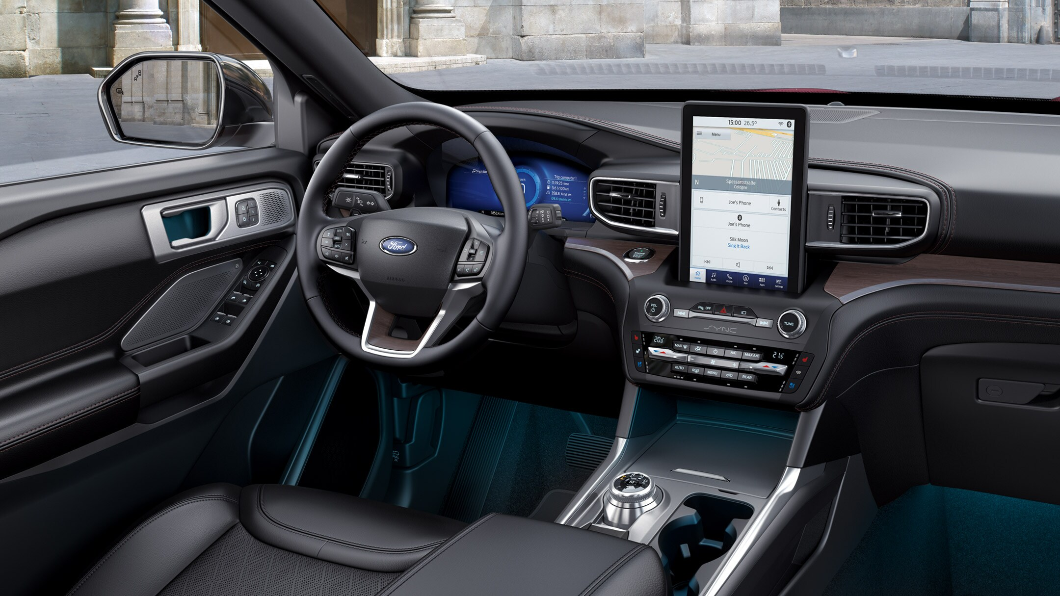 Interieur Ford Explorer